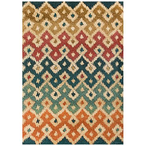 Barcelona 4472 Multi-Color Villa Area Rug