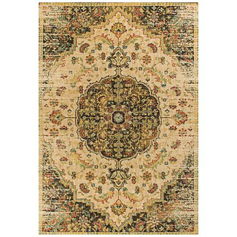 Casablanca 4405 Sand and Mocha Condesa Area Rug