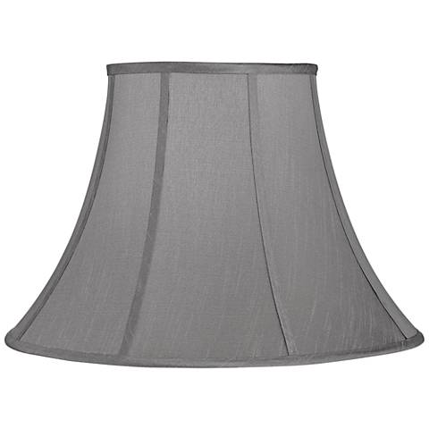 Morell Gray Bell Lamp Shade 9x18x13 (Spider)