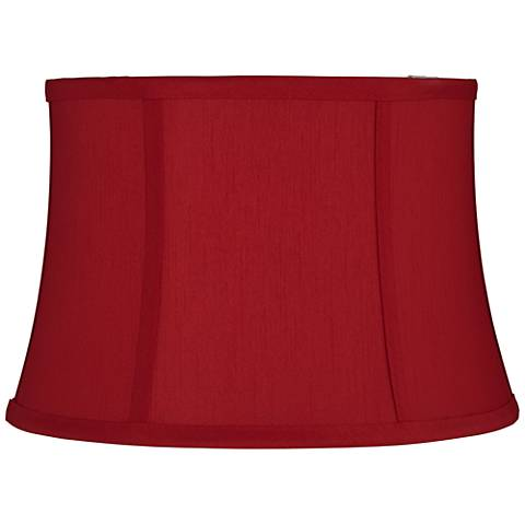 Red Morrell Drum Lamp Shade 10x12x8 (Spider)