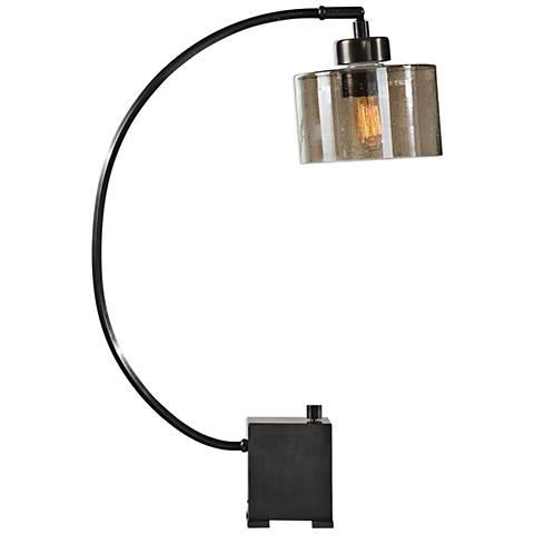 Uttermost Cervino Dark Oil Rubbed Bronze Desk Lamp