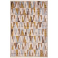 "Jaipur Fables RUG111912 7'6""x9'6"" Taupe Tribal Area Rug"
