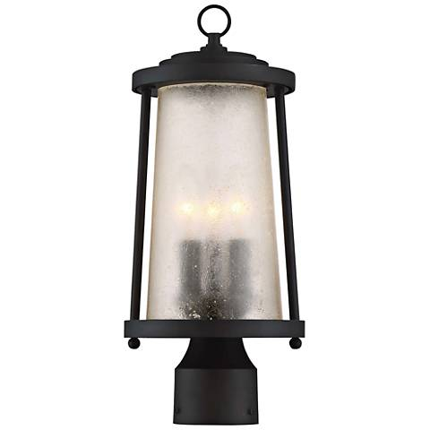 "Haverford Grove 13 1/2"" High Bronze Outdoor Post Light"