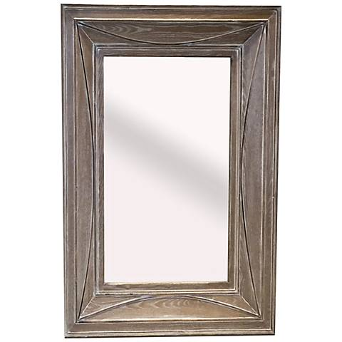 """Farm House II Natural 35 1/4"""" x 47 1/4"""" Wall Mirror"""