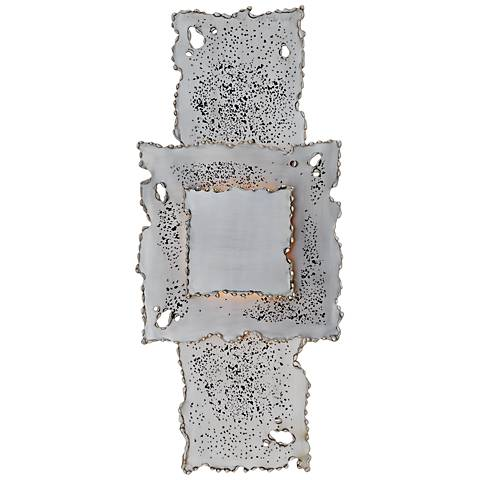 Melting Antique Nickel Hardwired Wall Lamp