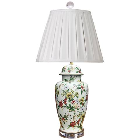 Devin Multi-Color Porcelain Table Lamp