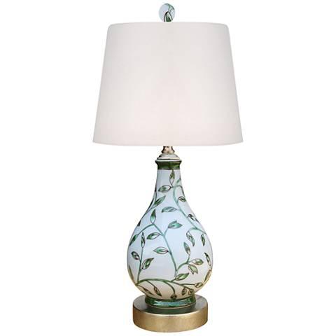 """Centre 17"""" High Porcelain Accent Table Lamp"""