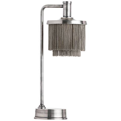 Arteriors Home Gwendolyn Vintage Silver Desk Lamp