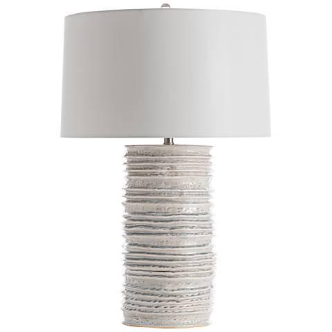 Arteriors Home Homer Celadon Wash Ceramic Table Lamp