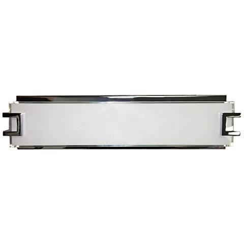 "Ryder 18 1/4"" Wide Chrome LED Bath Light"