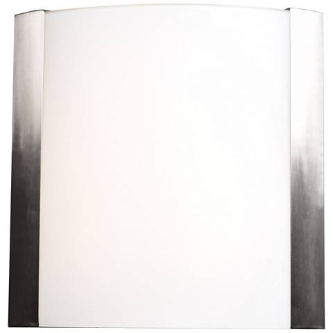 "West End 15"" High Brushed Steel LED Wall Sconce"