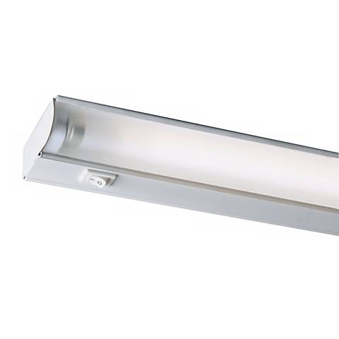 "Fluorescent 46"" Wide White Under Cabinet Light by Juno"