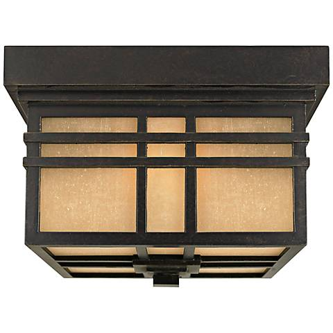 "Quoizel Hillcrest 11 1/2"" Wide Outdoor Ceiling Light"