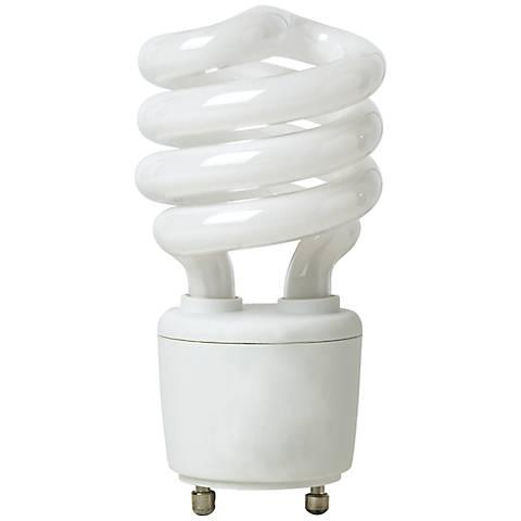 GU24 Base 13 Watt CFL Light Bulb