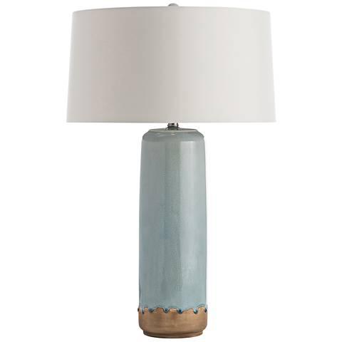 Arteriors Home Gaylord Celadon Crackle Porcelain Table Lamp