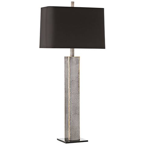 Arteriors Home Gable Natural and Burnt Wax Iron Table Lamp
