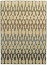 "Brentwood 001H9 7'10""x10'10"" Multi-Color Ivory Area Rug"