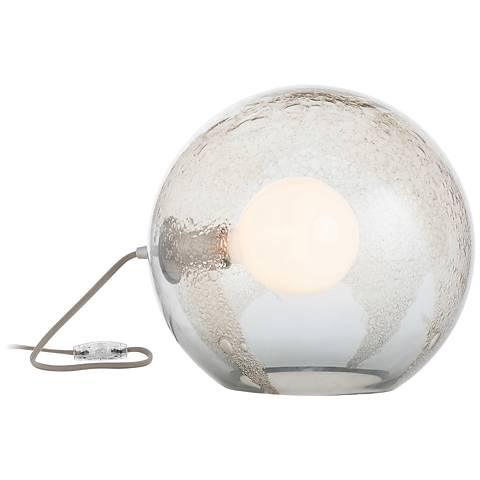 Arteriors Home Geyser Smoke Luster Glass Uplight