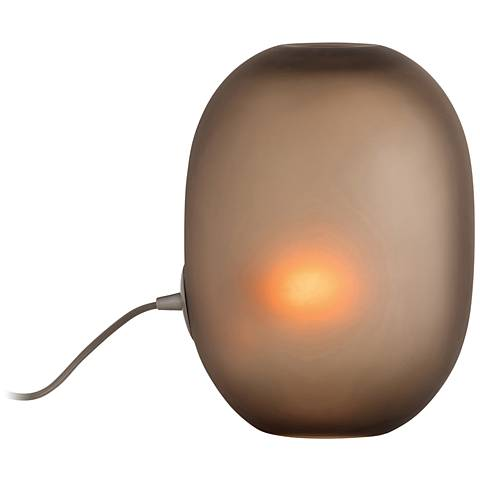 Arteriors Home Golsby Frosted Tobacco Glass Uplight