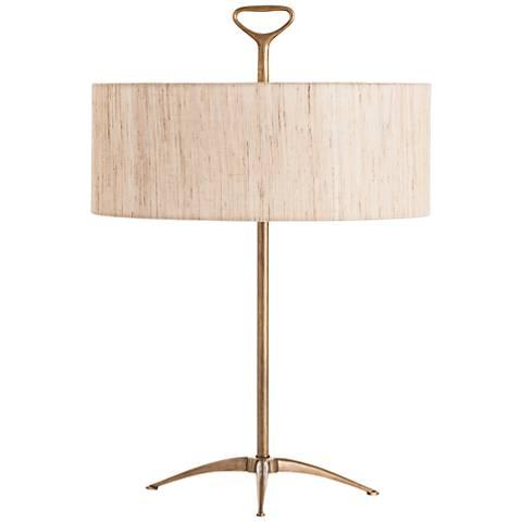 Arteriors Home Harper Vintage Brass Table Lamp