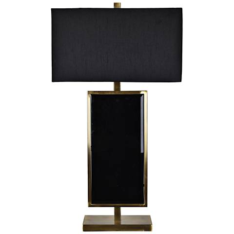 Crestview Collection Lexington Black and Gold Table Lamp
