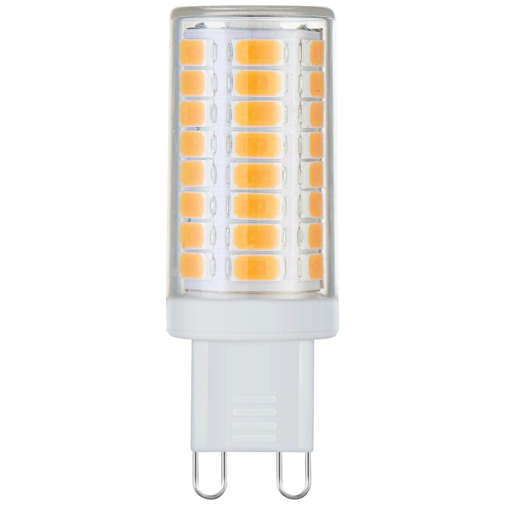 40 Watt Equivalent Tesler 4 Watt LED Dimmable G9 Base Bulb  sc 1 st  L&s Plus & 40 Watt Equivalent Tesler 4 Watt LED Dimmable G9 Base Bulb ... azcodes.com
