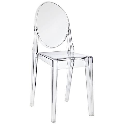 Casper Clear Outdoor Dining Chair