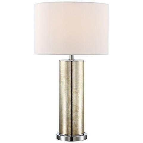 Lite Source Gordon Gold Glass Table Lamp