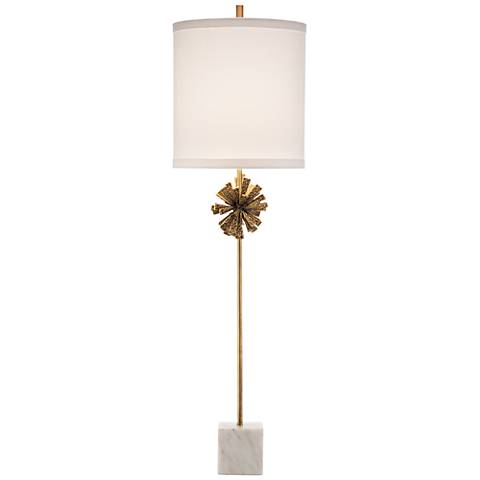 John Richard Callen Callista Gold Buffet Lamp