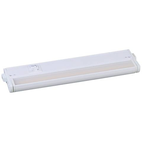 "CounterMax MX-L-120-3K 12"" W White LED Undercabinet Light"