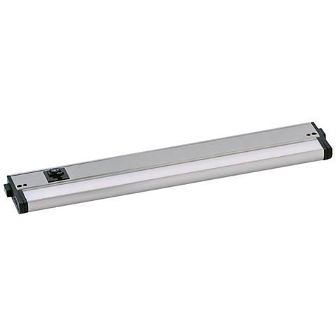 "CounterMax MX-L-120-3K 18"" W Satin Nickel LED Undercabinet Light"