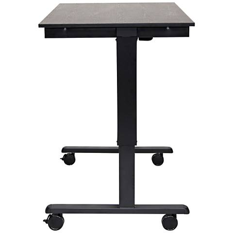 Upas Black Small Electric Standing Desk