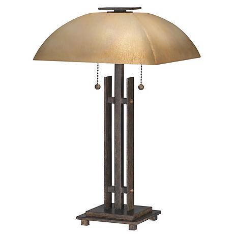 lineage collection iron base table lamp 34402 lamps plus. Black Bedroom Furniture Sets. Home Design Ideas