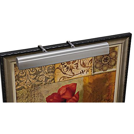 """House of Troy Traditional 24"""" Wide Pewter Picture Light"""