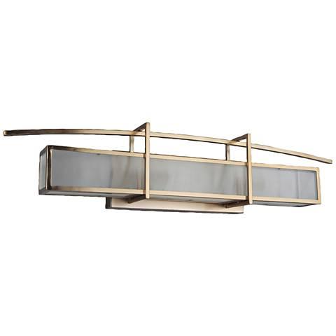 "Craftmade Kodo 28 1/2""W Brushed Bronze 3-Light Bath Light"