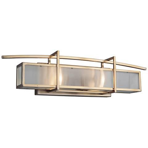 "Craftmade Kodo 22 1/2""W Brushed Bronze 2-Light Bath Light"