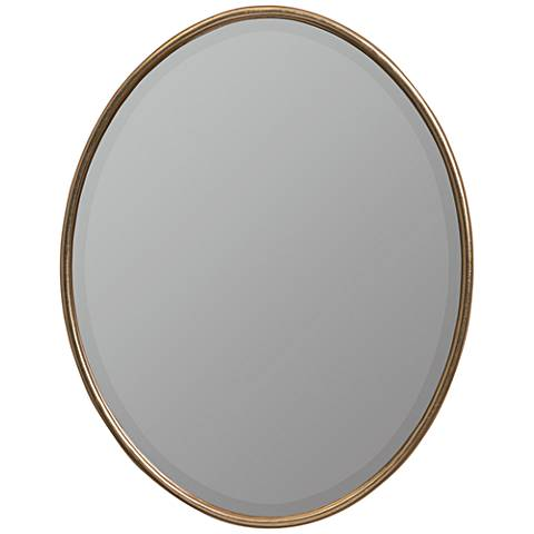 """Cooper Classics Stafford Gold 22"""" x 28"""" Wall Mirror"""