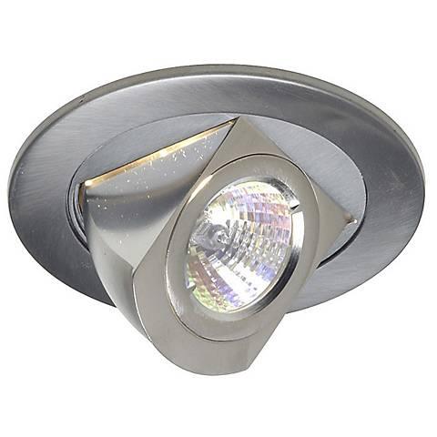 Juno 4 Low Voltage Chrome Adjustable Recessed Light Trim 35345 Lamps Plus