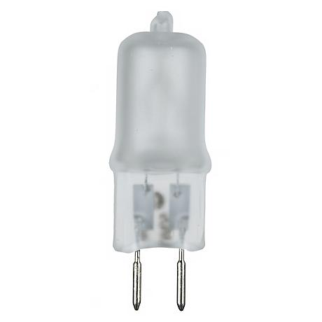 50-Watts  Frosted Halogen Bi-Pin Light Bulb
