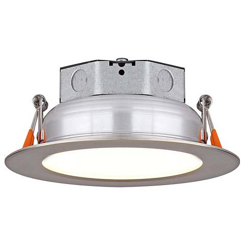 "Veloce 4"" Nickel LED Retrofit Downlight"