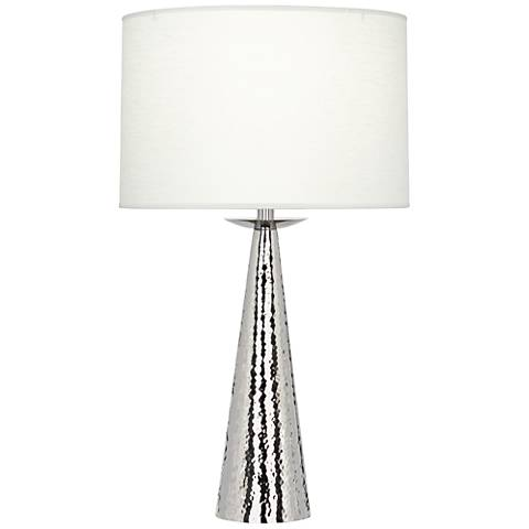 Robert Abbey Dal Polished Nickel Table Lamp