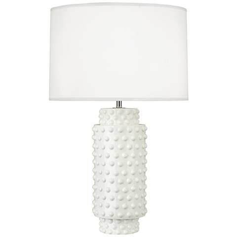 Robert Abbey Dolly Lily Ceramic Table Lamp