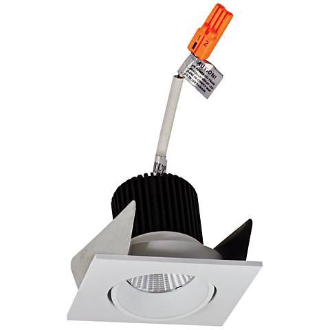 """Iolite 2"""" White Square Adjustable Cone LED Retrofit Trim"""