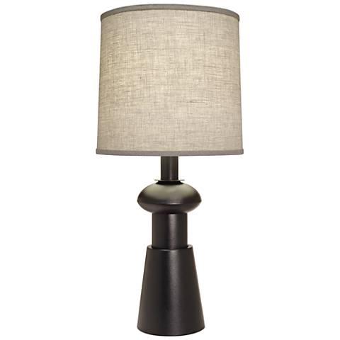 Stiffel Carson Converse Black Texture Accent Table Lamp