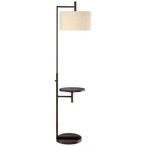 Mesa Tray Table Floor Lamp With Usb Port 35m98 Lamps
