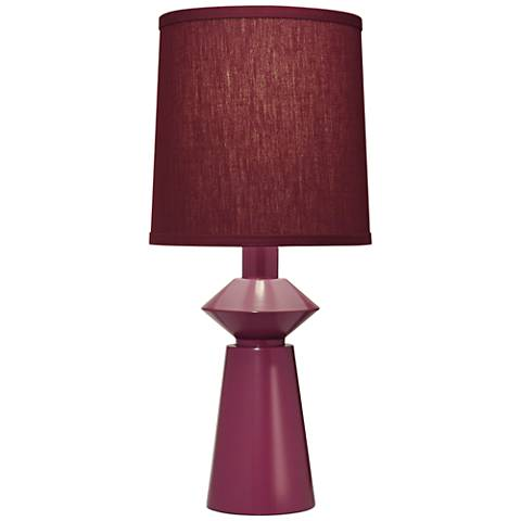 Stiffel Carson Converse Mulberry Accent Table Lamp