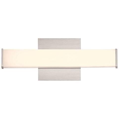 "Eurofase Kelvin 13"" Wide Aluminum LED Bath Light"
