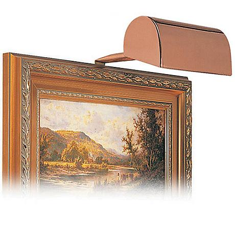 """House of Troy 5"""" Wide Bronze Finish Plug-in Picture Light"""