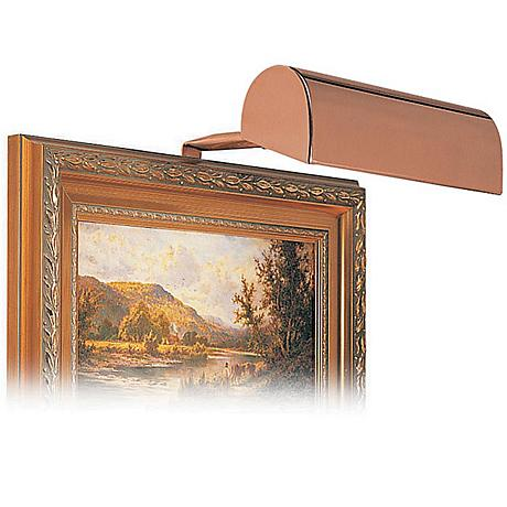 "House of Troy 8"" Wide Bronze Finish Plug-in Picture Light"