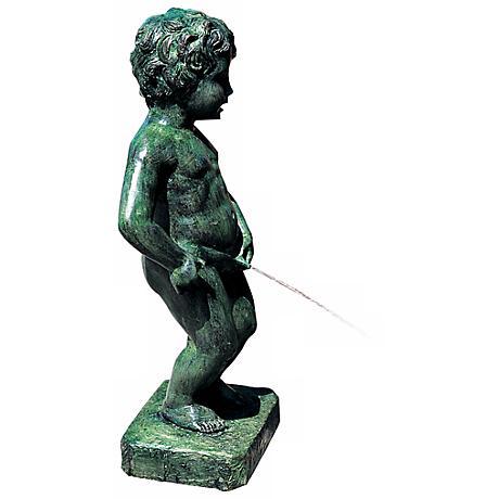 Belgian Boy Fountain